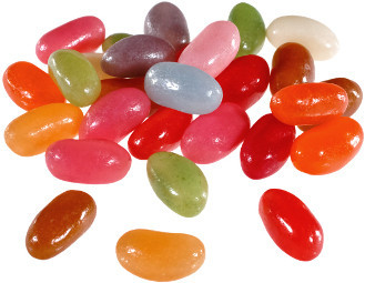 Saure Jelly Beans - 400g Sterndose