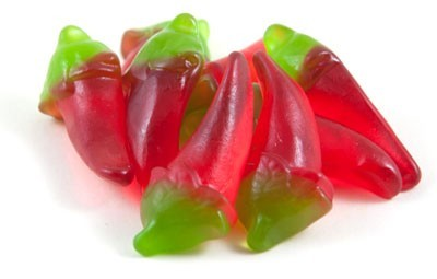 Fruchtgummi Hot Chillis - 150g Beutel